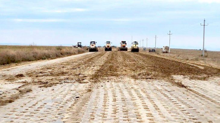 Construcția drumului de ocolire a satului Slobozia Mare din raionul Cahul. Vezi la ce etapă se află