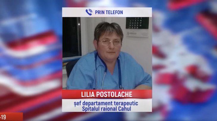 """LILIA POSTOLACHE: """"Din păcate, nu prea facem față în ziua de astăzi deoarece suntem supraîncărcați cu pacienți"""""""
